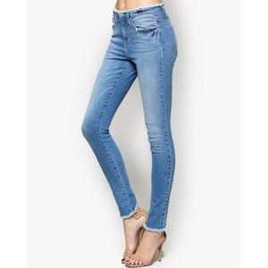 Flying Monkey | Distressed Waistband Jeans